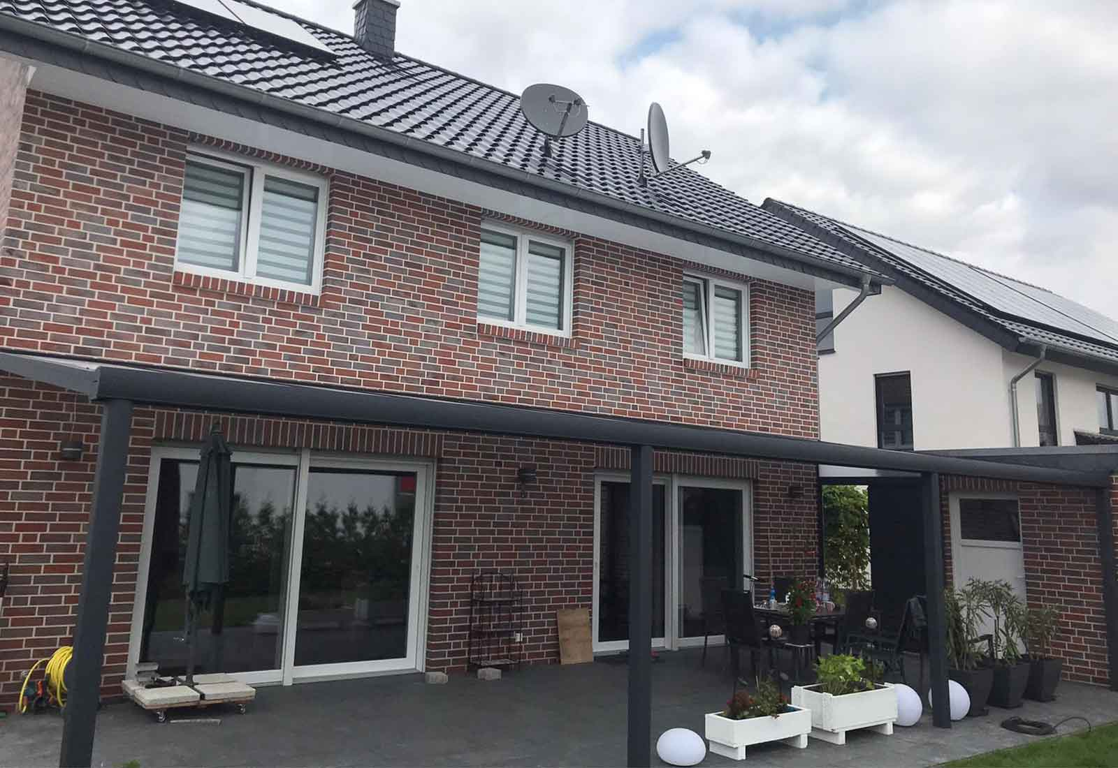 Terrassenüberdachung in Bielefeld